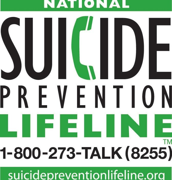 Suicide Prevention Lifeline (Dr. John Draper)