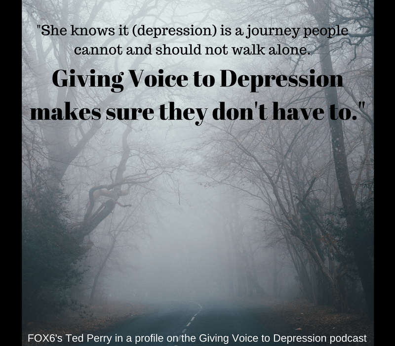 Giving Voice to Depression, profiled on FOX6 Milwaukee
